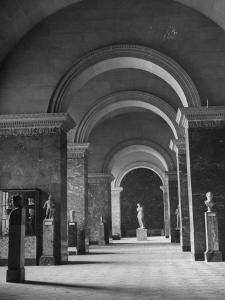 An Interior View of the Louvre Museum by Ed Clark