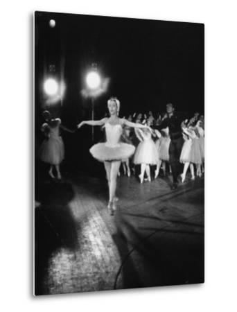 """Ballerina Maria Tallchief Appearing in """"Swan Lake"""" with Andre Eglevsky"""