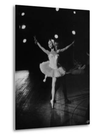 "Ballerina Maria Tallchief Performing in ""Swan Lake"""