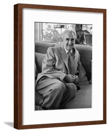 Casual Portrait of Architect Richard Neutra