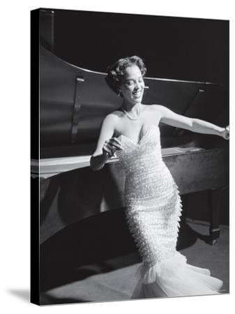 Dorothy Dandridge Dancing on a Night Club Dance Floor