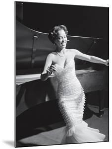 Dorothy Dandridge Dancing on a Night Club Dance Floor by Ed Clark