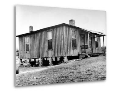 "Home in the Mississippi River Area, Where Richard Wright Wrote the Book Called ""Black Boy"""