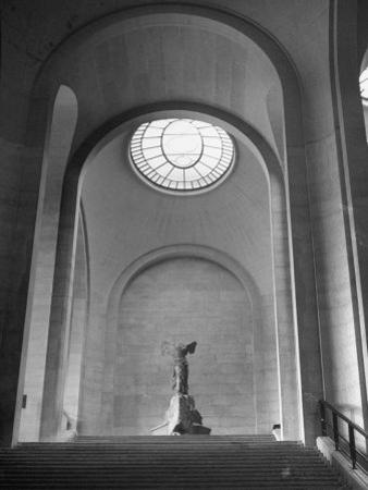 Interior View of the Louvre Museum