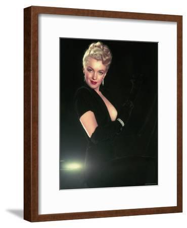 Portrait of Actress Marilyn Monroe