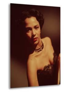 Portrait of Singer Actress Dorothy Dandridge by Ed Clark