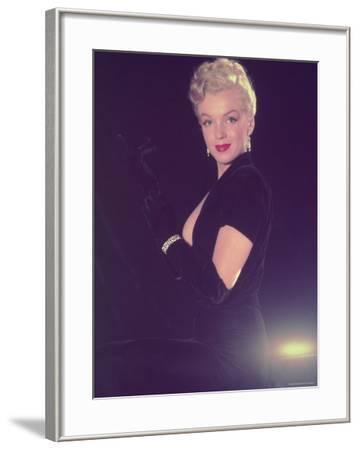 Portrait of Starlet Marilyn Monroe