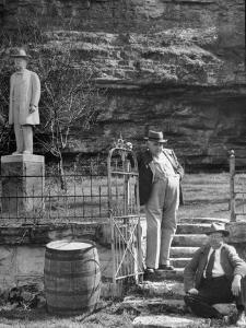 Reagor Motlow and Jess Motlow, Present Owners of Jack Daniels Distillery by Ed Clark