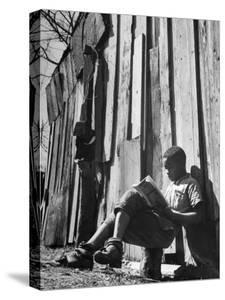 To Escape the Wrath of His Grandmother, Richard Wright Used to Sit Behind the Barn to Read by Ed Clark