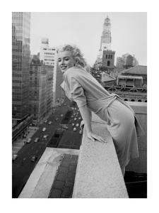 Marilyn Monroe at the Ambassador Hotel, New York, c.1955 by Ed Feingersh