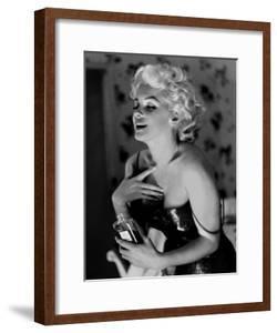 Marilyn Monroe, Chanel No.5 by Ed Feingersh