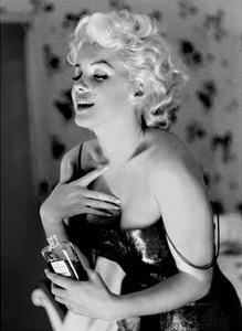 Marilyn Monroe, Chanel No. 5 by Ed Feingersh
