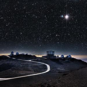 Haleakala Observatories, Maui by Ed Freeman