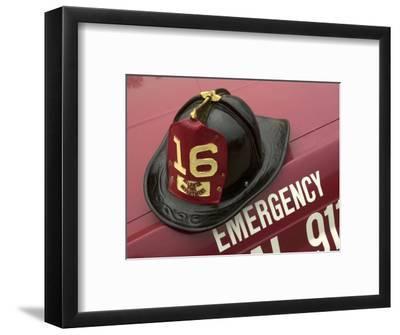 Old Fire Helmet
