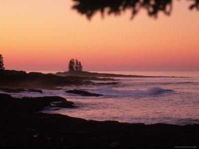 Sunrise, Tall Ship Island, East Boothbay, ME