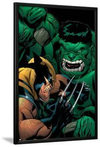 World War Hulk: X-Men No.2 Cover: Wolverine and Hulk by Ed McGuinness