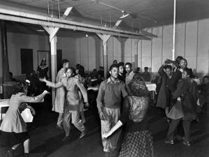 African American Teenagers at a Dance in Oak Ridge, Tennessee by Ed Westcott