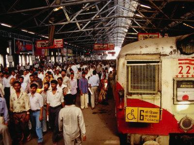 Victoria Terminus Train Station, Mumbai, Chennai, India