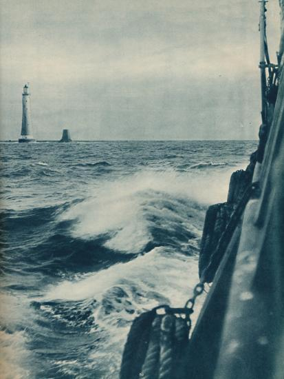 'Eddystone Lighthouse', 1936-Unknown-Photographic Print