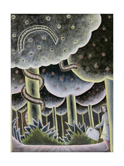 Eden, the First Exodus, 1989-Celia Washington-Giclee Print