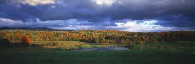 Eden, View of Field, Northeast Kingdom, Vermont, USA-Walter Bibikow-Photographic Print