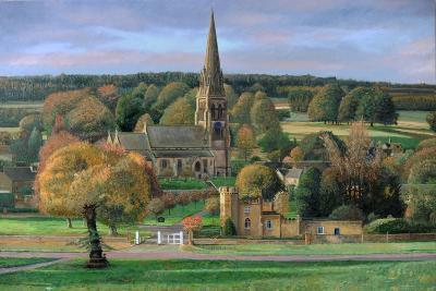 Edensor, Chatsworth Park, Derbyshire, 2009-Trevor Neal-Giclee Print