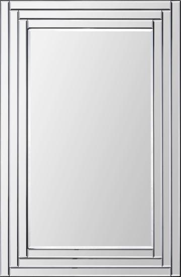Edessa Beveled Step Mirror--Wall Mirror