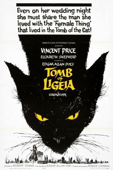 """Edgar Allan Poe's the Tomb of Ligeia, 1964, """"The Tomb of Ligeia"""" Directed by Roger Corman--Giclee Print"""