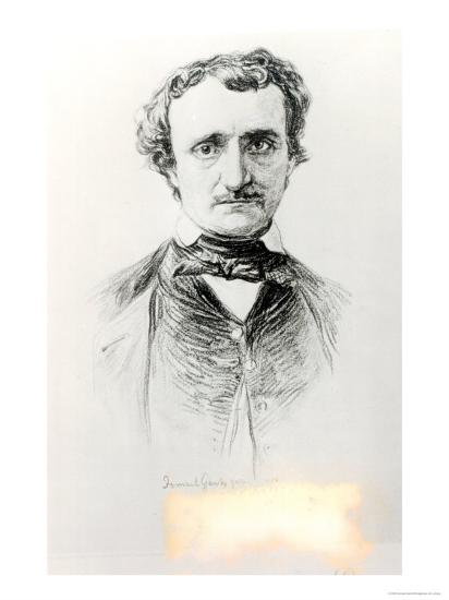 Edgar Allan Poe-Ismael Gentz-Giclee Print