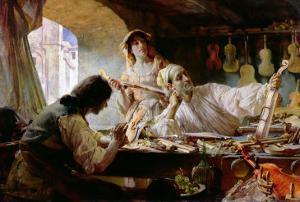 Antonio Stradivari, 1893 by Edgar Bundy