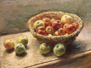 A Bowl of Apples, 1880 by Edgar Degas