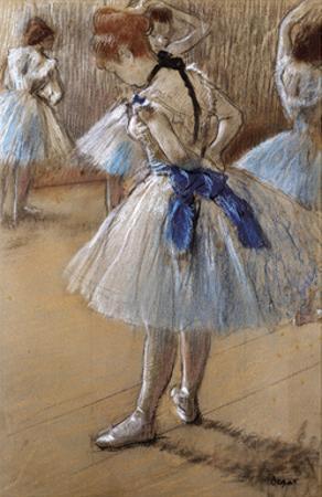 A Study of a Dancer by Edgar Degas