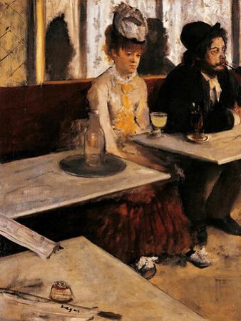 Absinthe Drinker by Edgar Degas
