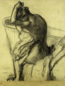 After the Bath; Apres Le Bain, 1899 by Edgar Degas