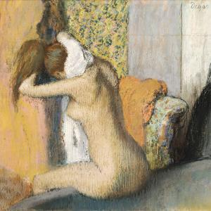 After the Bath, Woman Drying Her Neck, 1898 by Edgar Degas