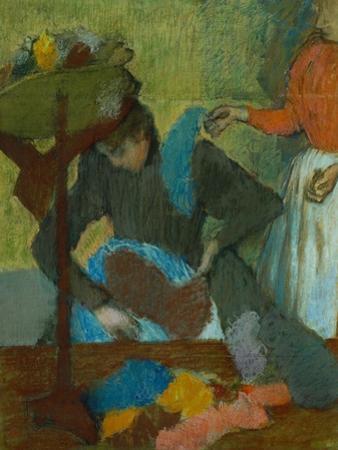 At the Milliner (Chez La Modiste), 1898 by Edgar Degas