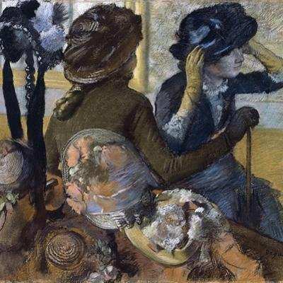 At the Milliner'S, 1882 by Edgar Degas