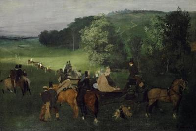 At the Racecourse (The Races), C.1861-62 by Edgar Degas
