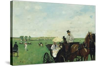 At the Races in the Countryside, 1869