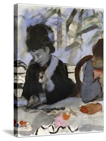 Au Cafe, C1877-1880 by Edgar Degas