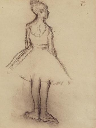 Ballerina Viewed from the Back by Edgar Degas