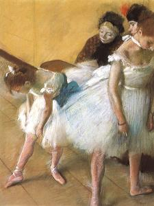 Ballerinas in Repose, 1880 by Edgar Degas