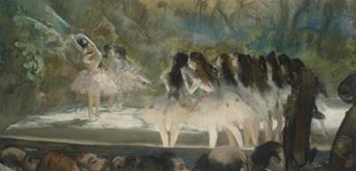 Ballet at the Paris Opéra, 1877 by Edgar Degas