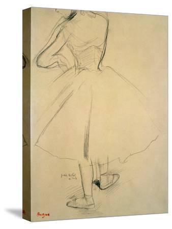 Ballet Dancer from Behind, 19th Century