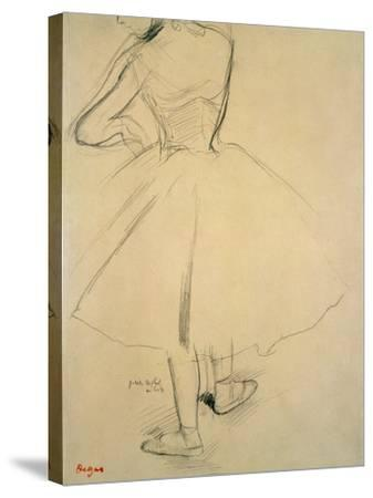 Ballet Dancer from Behind, 19th Century by Edgar Degas