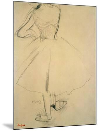 Ballet Dancer from Behind, 19th Century by Edgar Degas