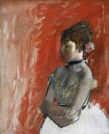 Ballet Dancer with Arms Crossed by Edgar Degas by Edgar Degas