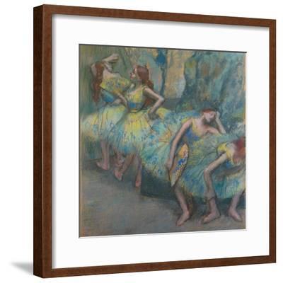 Ballet Dancers in the Wings, C.1890-1900