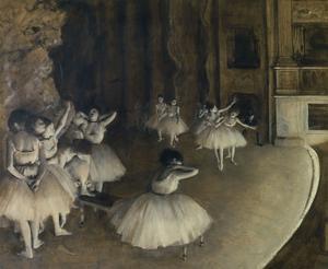 Ballet Rehearsal,1874 by Edgar Degas