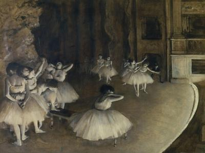 Ballet Rehearsal,1874